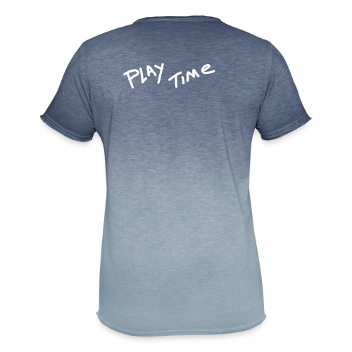 Play Time Tshirt - Men's T-Shirt with colour gradients