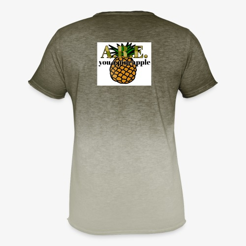 Are you a pineapple - Men's T-Shirt with colour gradients