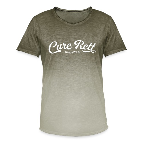 Cure Rett - Men's T-Shirt with colour gradients