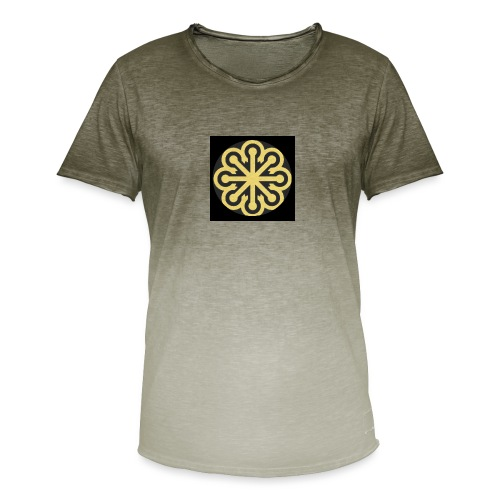 BGLogoGOLD - Men's T-Shirt with colour gradients