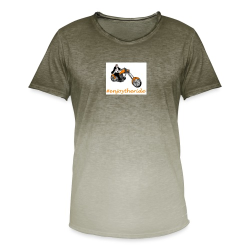 enjoytheride - T-shirt dégradé Homme