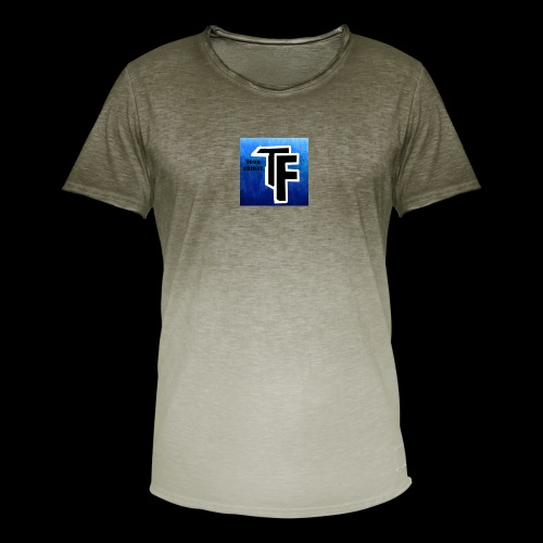 todd friday logo - Men's T-Shirt with colour gradients