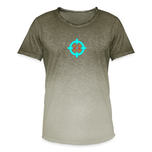 Targeted - Men's T-Shirt with colour gradients