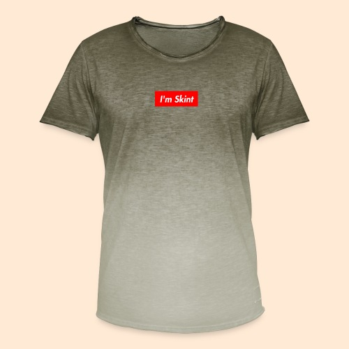 I'm Skint - Men's T-Shirt with colour gradients