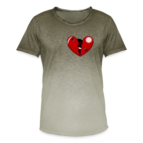 CORAZON1 - Men's T-Shirt with colour gradients