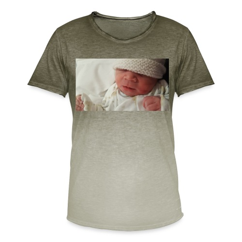 baby brother - Men's T-Shirt with colour gradients