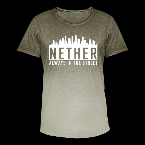 Nether - Always in the Street - Maglietta da uomo con scoloritura