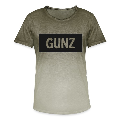 Gunz - Herre T-shirt i colour-block-optik