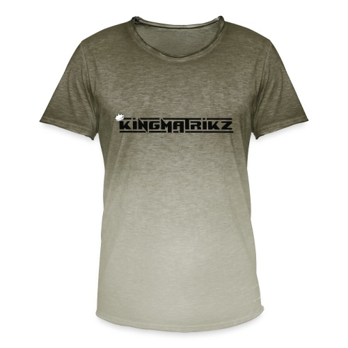 kingmatrikz mk2 - Herre T-shirt i colour-block-optik