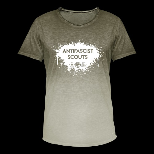 Antifascist Scouts - Men's T-Shirt with colour gradients