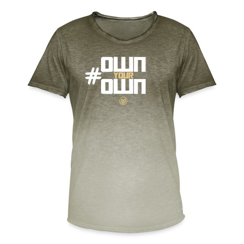 Own Your Own - Men's T-Shirt with colour gradients