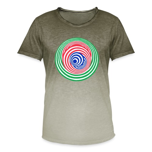 Tricky - Men's T-Shirt with colour gradients