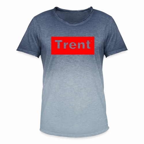 TRENT classic red block - Men's T-Shirt with colour gradients