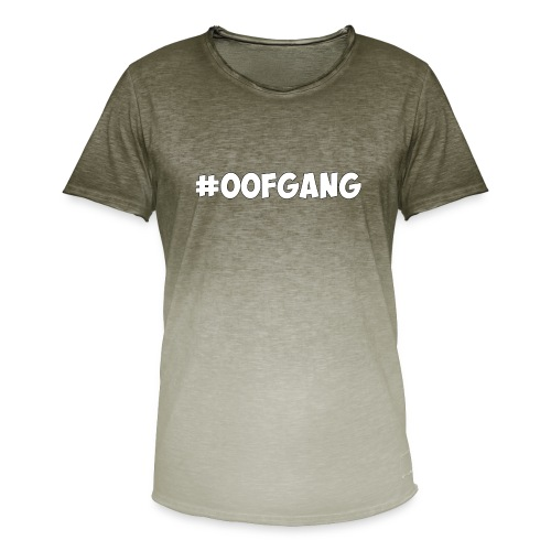 #OOFGANG MERCHANDISE - Men's T-Shirt with colour gradients