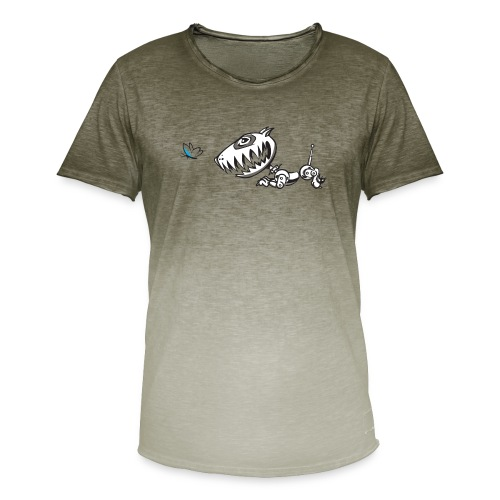Robodog - Men's T-Shirt with colour gradients