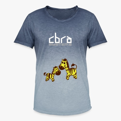 www cbra systems - Men's T-Shirt with colour gradients