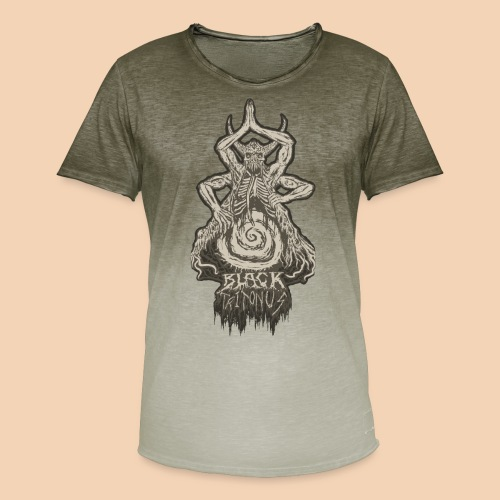 Gateway To The Abyss - Herre T-shirt i colour-block-optik