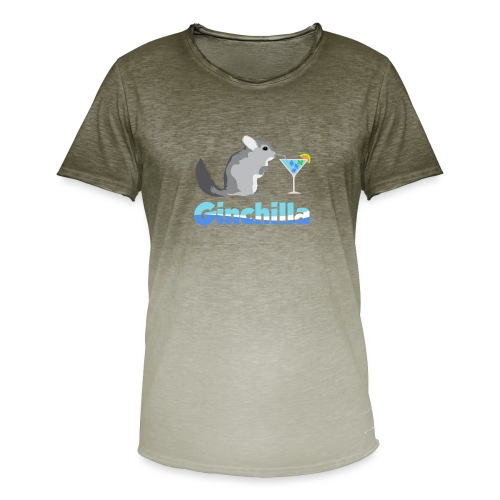 Gin chilla - Funny gift idea - Men's T-Shirt with colour gradients