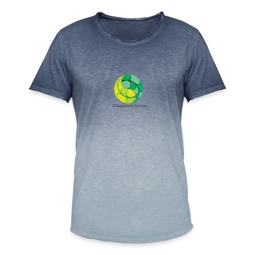 Cinewood Green - Men's T-Shirt with colour gradients