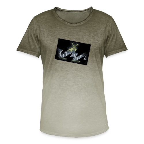 GYPSIES BAND LOGO - Men's T-Shirt with colour gradients