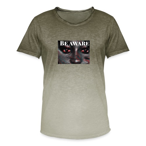 Be Aware - Men's T-Shirt with colour gradients