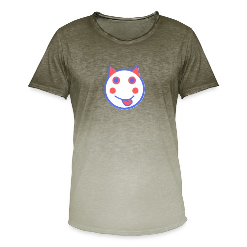 Red White And Blue - Alf Da Cat - Men's T-Shirt with colour gradients