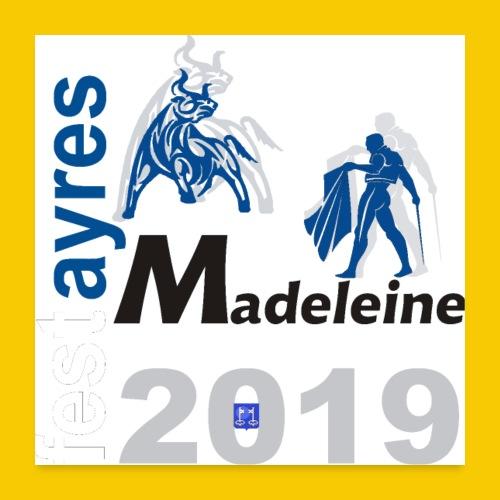 MADELEINE2019 - Poster 60 x 60 cm
