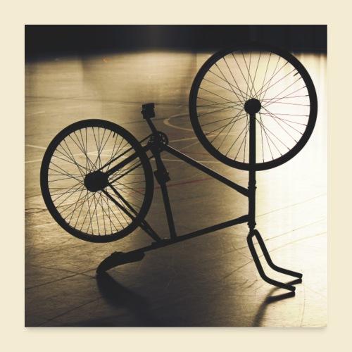 Poster | Radball | Cycle Ball 05 - Poster 60x60 cm