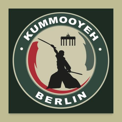 Kummooyeh Berlin Poster 1:1 Format - Poster 60x60 cm