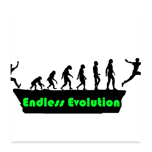 Endless Evolution - Poster 60x60 cm