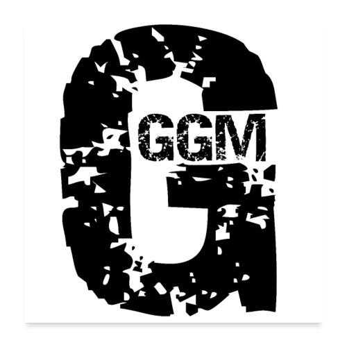 GGM LOGO POSTER! - Poster 60x60 cm