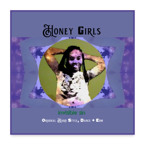Honey girls poster [size 1] - Poster 24 x 24 (60x60 cm)