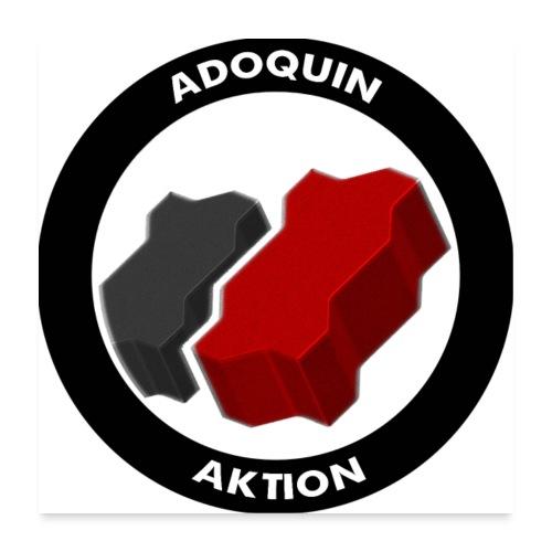 Adoquin Aktion - Póster 60x60 cm