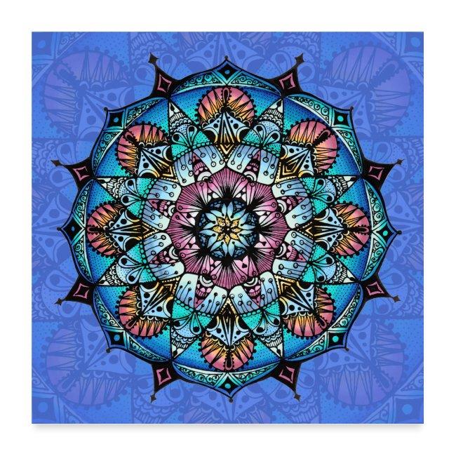 "SoulArt Mandala ""Mandala der Wandlung"""