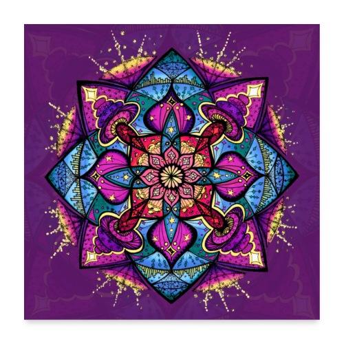SoulArt Mandala Inspiration - Poster 60x60 cm