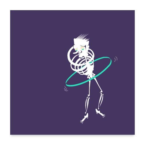 Le Hula Hoop de la mort - Poster 60 x 60 cm