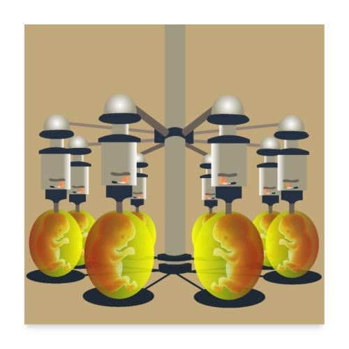 Clones 4.0 - Poster 60 x 60 cm