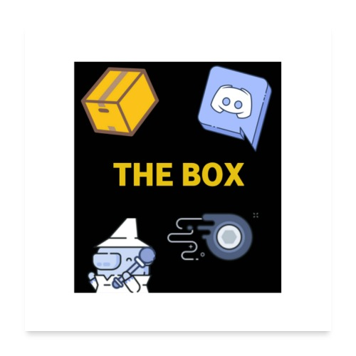 Collection The Box Posters - Poster 60 x 60 cm