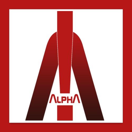 ALPHA - Winner wins! - Poster 60x60 cm