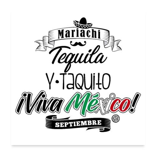 Tequila Taquito - Póster 60x60 cm