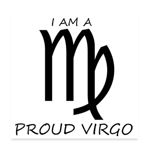 VIRGO - Poster 24 x 24 (60x60 cm)