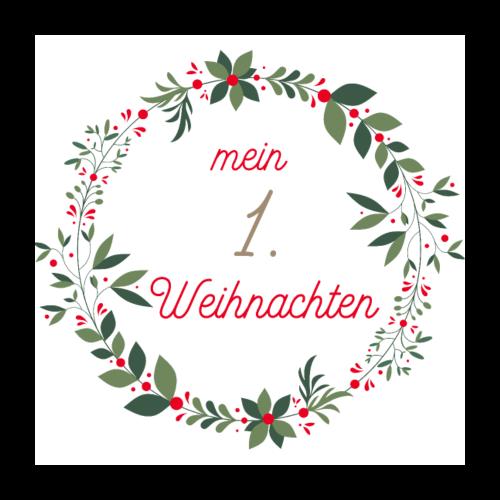 Mein 1.Weihnachten - Poster 60x60 cm