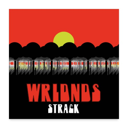WRLDNDS - Poster 60x60 cm