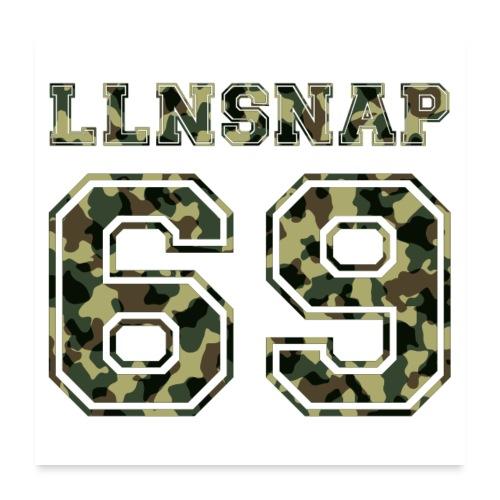 LLNsnap 69 (camo) - Poster 60 x 60 cm
