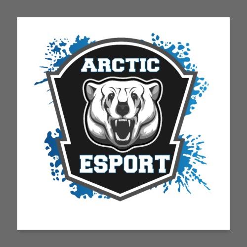 Arctic Esport Team Logo - Poster 24 x 24 (60x60 cm)