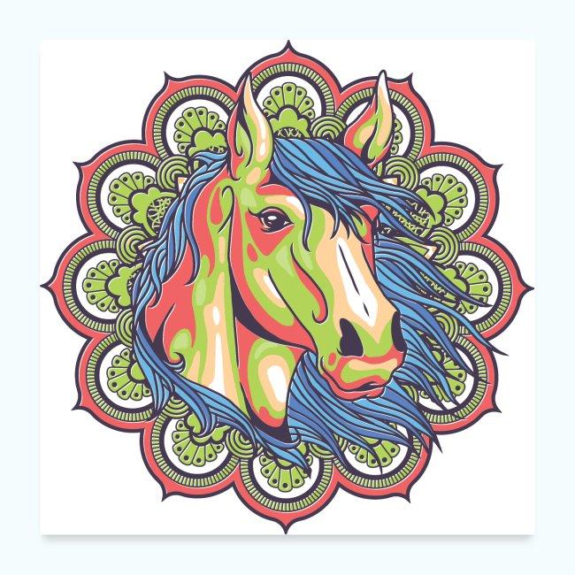 Mandala horse