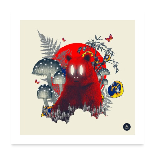 Red Specter - Poster 24 x 24 (60x60 cm)