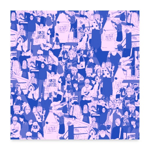 People - Poster 60x60 cm