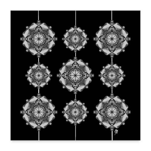 Mandala Wall - Poster 60 x 60 cm