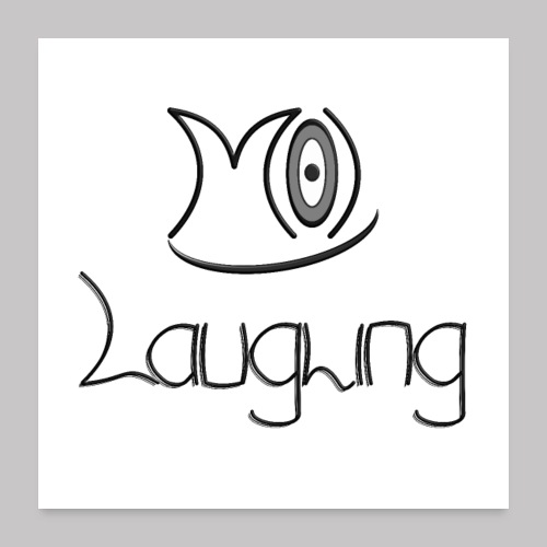 M(O)-Laughing 4 - Poster 60x60 cm